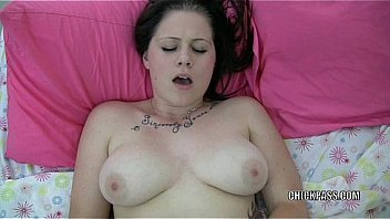 Busty college girl Mia makes her pussy cum with a toy