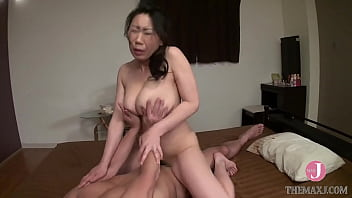 Kaoru is threatened and fucked in the doggystyle, then she gets facial cum!