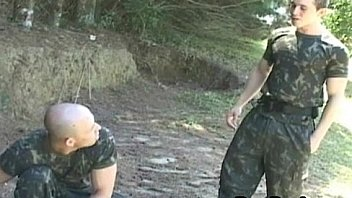 Scout boys enjoy and bb fuck in barrack