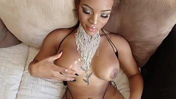 Amazon Ebony Halle is Sexy as Fuck