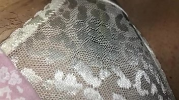 Wifes dirty panties while a.