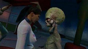 Best Alien-Human Fuck video!(for masturbating)