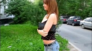 Deutsche dünne bitch auf der Straße aufgerissen und beim EroCom date casting gefickt