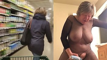 Sexy mature leads a double life