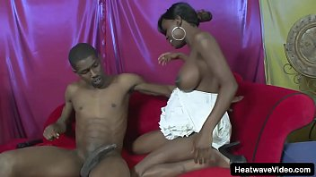 Milk A Thon #10 - Chocolate - Black pregnant beauty with big tits full of milk