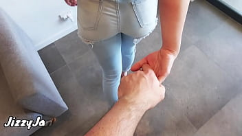 Please Daddy Rub My Pussy and Cum in My Panty and Denim