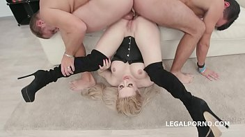 Triple Anal Stars, Isabella Clark 5on1 Balls Deep Anal and DAP, TAP, Gapes and Swallow GIO1219
