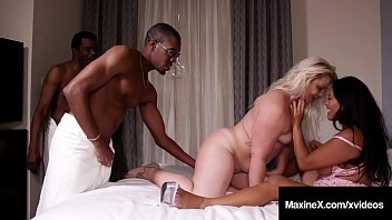 Busty Asian Milf Maxine X & Hot Fuck Friend Selah Rain get their sweet bangable butts, fucked by 2 large ebony dicks in this hot interracial threesome! Full Video & Maxine X Live @ MaxineX.com!