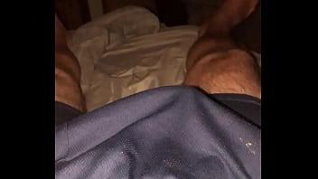 Over shorts masterbation