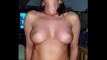 Sexy Brunnette With Pretty Tits Riding Dick