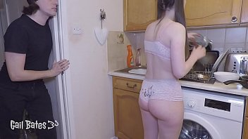 Preview: Naughty step daughter gets anally fucked by step father for not washing dishes