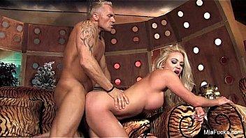 Mia Lelani Takes a Hard Cock