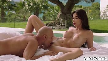 VIXEN French Beauty enjoys sensual fuck