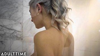 Eva Elfie Masturbating in a Steamy Shower