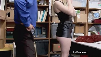 LP office spiced up with a hot busty blonde getting fucked