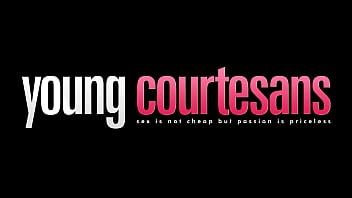 Young Courtesans - He is eating her pussy like a sensual lover