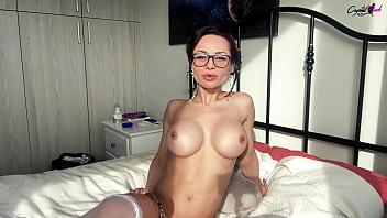 Gorgeous Hottie Sensual Masturbates Pussy to Intensive Orgasm