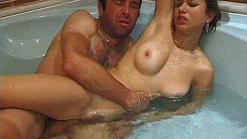 Sex in a bathtub