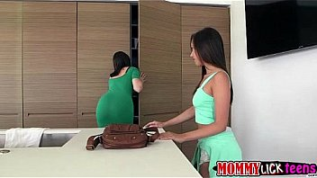 Mom Dana and Jenna licks ass and pussy in wild lesbian sex
