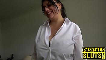 Chubby mature with big tits_bangs rough Thumbnail