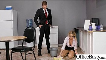Office Girl (Jessa Rhodes) With Big Round Melon Tits Like Sex mov-28
