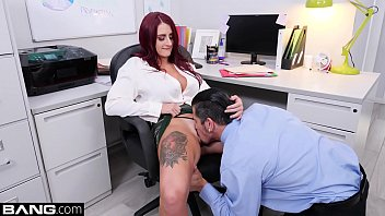 Tana Lea loves workplace sex with her fuck buddy the maintenance guy!