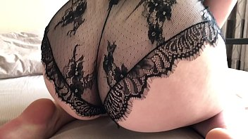 Fuck with perfect girl with huge tits in beautiful lingerie