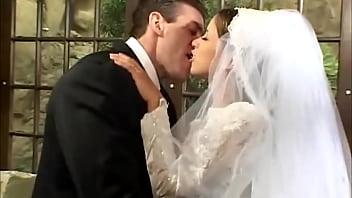 Happy groom Fucks bride and bridesmaid