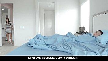 Family Strokes - MILF Pays Step sis (Karmen Santana) To Bang brother
