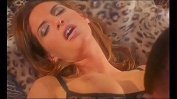 Fantastic busty whore Sondra Hall is serving man and blows his huge cock