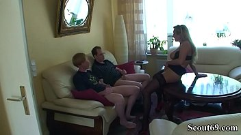 Watch German Son and Schoolfriend Seduce his Step Mother to get First Sex and lost his Virgin preview