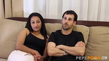 A dream made true: Unexperienced couple get their first threesome!