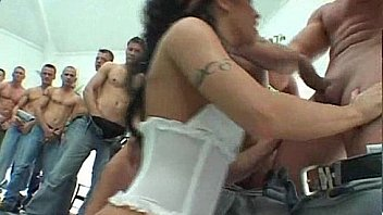 whore gangbanged by 50 dudes 116