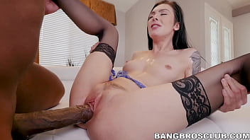 Pale beauty stretched by monster BBC