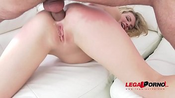 Jemma Valentine is fed slut food (8 cumshots to swallow) with anal a2m and double penetration SZ1247
