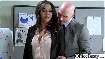 In Office Hard Style Sex With Big Round Boobs Girl (stephani moretti) movie-29