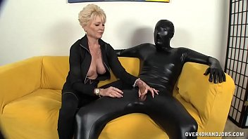 Milfs experienced touch drives him up the wall