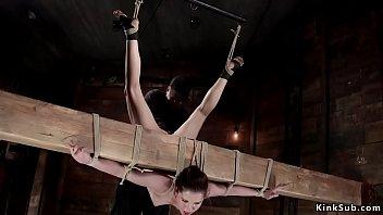 Inverted Suspension Bondage Gogo Galery Tv