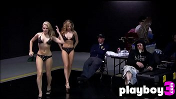 Hot lesbians enjoyed a perverted TV show