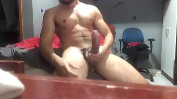 Brazilian man massaging