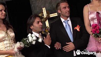 Jeny b. And Kaia Kane Have A Wild Wedding Orgy