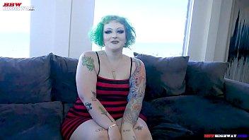 bbw emo girl with huge ass takes Jovan Jordans huge cock