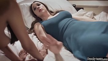 Busty escort hottie agrees to roleplay with guy next to his comatose wife.Weird it is but she starts throating his hard cock.He eats out her pussy and fucks her.When they finish shes shocked that his wife is looking at her.She mumbles RUN