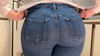Giant Ass Mom Jeans 4k