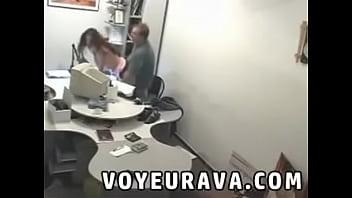 Security camera spy voyeur sex