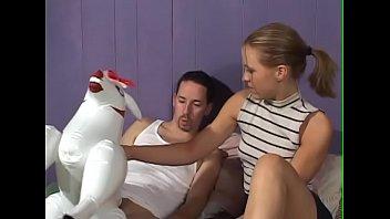 She enter the room as he fuck a doll -- fuck me she saiys
