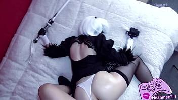 2B Big ass Cosplay - SweetDarling