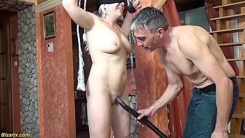 rough bound and big dick fuck lesson for our mom