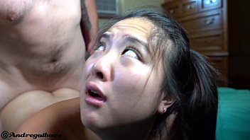 4K asian girl begs for assfucking and @andregotbars delivers
