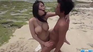 Kyouko Maki, big tits Asian hottie, enjoys outdoor sex - More at javhd.net
